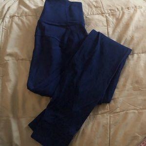 EUC Lululemon Blue High Rise Legging Size 4